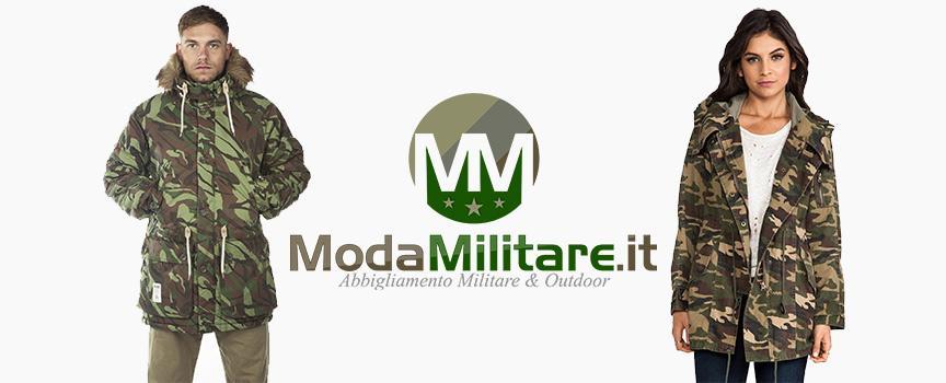 Parka militare uomo