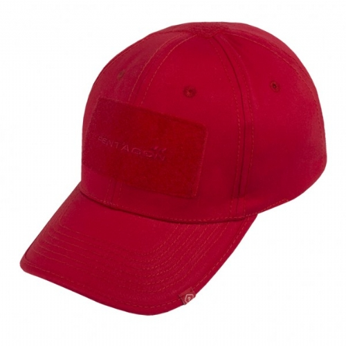Baseball Cap Tactical 2.0 Twill Rosso - Pentagon