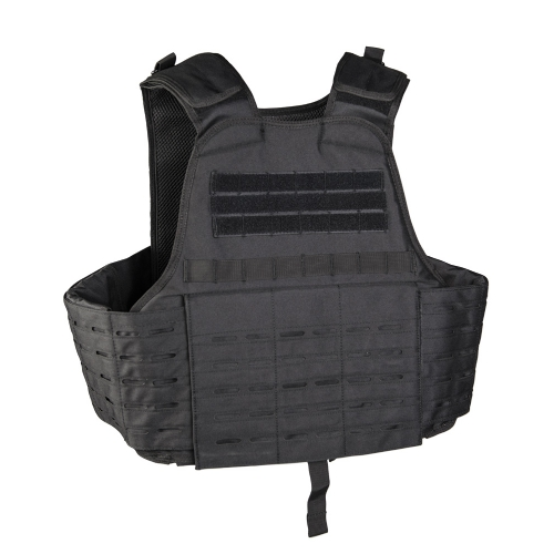 Carrier Vest Laser Cut Nero - Mil-Tec