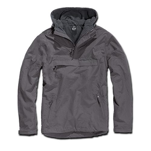Giacca Windbreaker Anthracite - Brandit