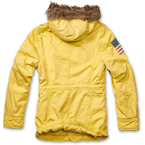 Foto aggiuntiva Parka Vintage Explorer Stars and Stripes Yellow Brandit