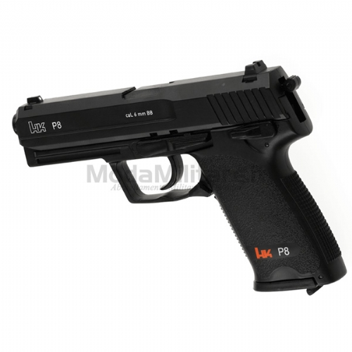 Pistola Co2 HK P8 Nera - Heckler & Koch