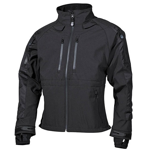 Giacca Security Soft Shell Nera Protect