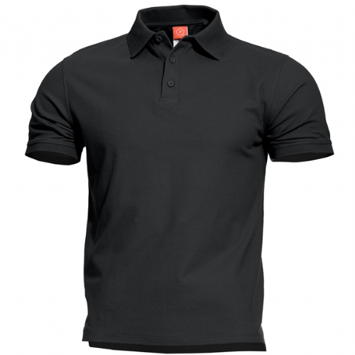 Polo T-Shirt Aniketos Nera - Pentagon