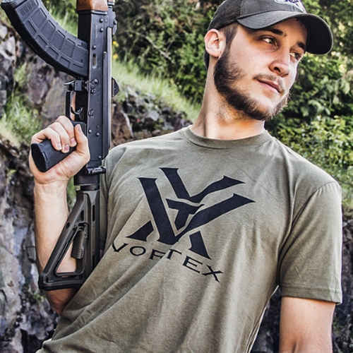 Foto aggiuntiva T-Shirt Tattica Tee OD Green - Vortex Optics