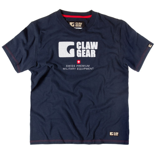 T-Shirt Vintage Classic Blue Navy - Claw Gear