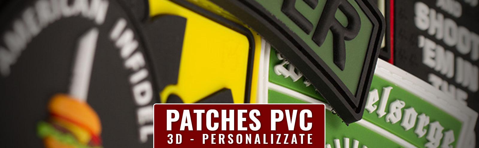 Realizzazione patch pvc personalizzate