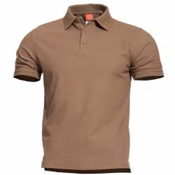 Polo T-Shirt Aniketos Tan - Pentagon