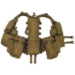 Gilet Tattico Multitasca Coyote