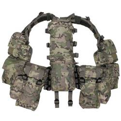 Gilet Tattico Multitasca Multicam