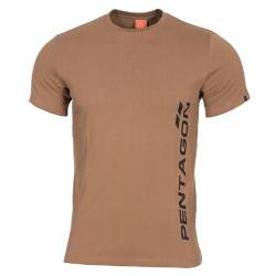 T-Shirt Ageron Pentagon Vertical Coyote Tan - Pentagon