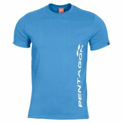 T-Shirt Ageron Pentagon Vertical Pacific Blue - Pentagon
