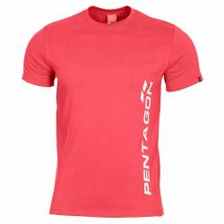T-Shirt Ageron Pentagon Vertical Lava Red - Pentagon