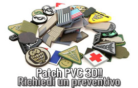 Patch PVC Personalizzate