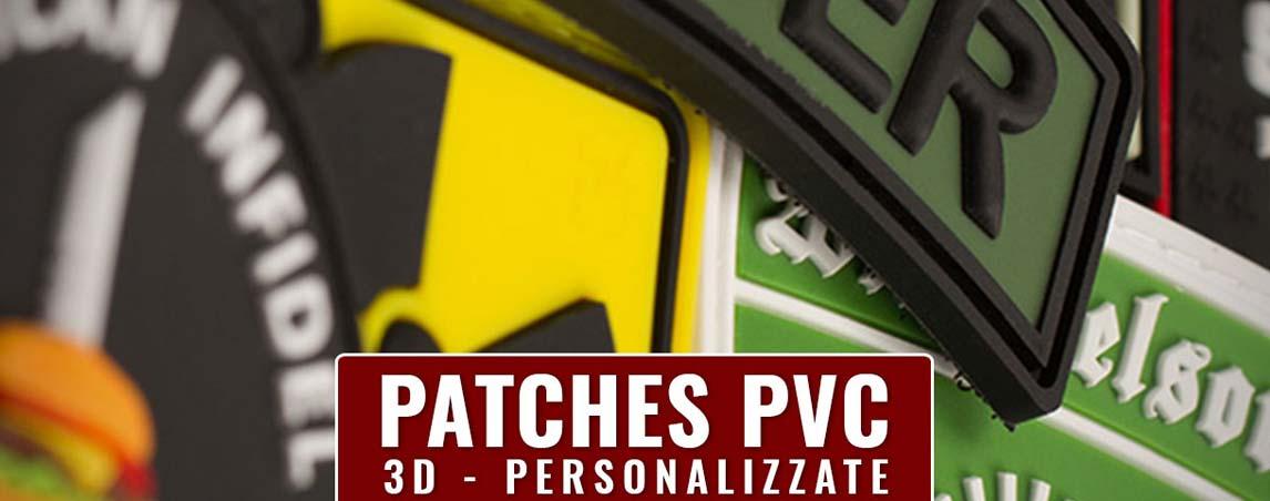 Realizziamo patch pvc toppe personalizzate