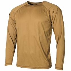 Maglia intima termica US Level I, GEN III Coyote Tan - MFH