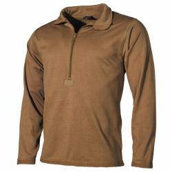 Maglia intima termica US Level II, GEN III Coyote Tan - MFH
