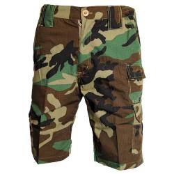 Bermuda Militari Woodland - Bear Wear
