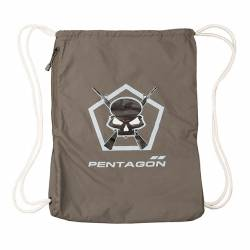 Moho Gym Bag Skull Cinder Grey - Pentagon