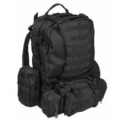 Zaino Militare Defense Pack Assembly Nero - Mil-Tec