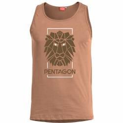 Canottiera Astir Lion Tan - Pentagon