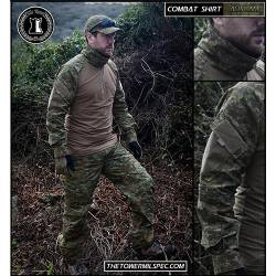 Combat Shirt Digital Auscam The Tower Company ®