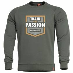 Felpa Hawk Train Your Passion Grindle Green - Pentagon