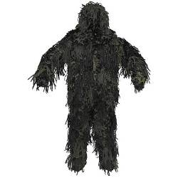 Ghillie Suit Woodland 3D Body System MFH