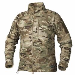 Giacca Alpha Tactical in Grid Pile Multicam - Helikon Tex