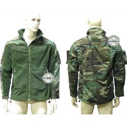 Giacca Militare Pile Woodland BE-X
