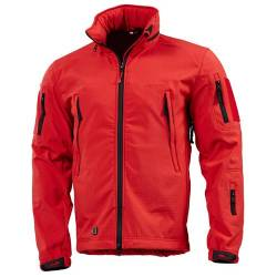 Giacca Militare Softshell Artaxes Rossa - Pentagon