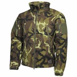 Giacca Soft Shell Scorpion CZ Camo - MFH