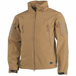 Giacca Soft Shell Scorpion Tan - MFH