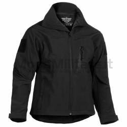 Giacca Softshell Tactical Nera - Invader Gear