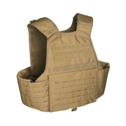 Carrier Vest Laser Cut Coyote - Mil-Tec
