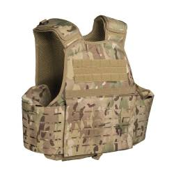 Carrier Vest Laser Cut Multicam - Mil-Tec