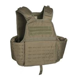 Carrier Vest Laser Cut OD-Green - Mil-Tec