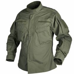 Giacca Militare CPU® PolyCotton RipStop Olive Green - Helikon Tex