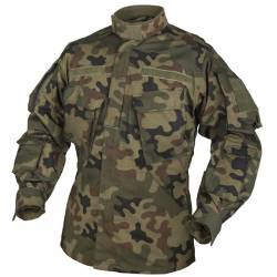 Giacca Militare CPU® PolyCotton RipStop PL Woodland - Helikon Tex