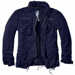 Giacca Militare M-65 Giant Navy Blue - Brandit