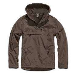 Giacca Windbreaker Marrone - Brandit