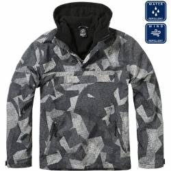 Giacca Windbreaker Night Camo Digital - Brandit