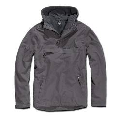 Giacca Windbreaker Anthracite Brandit