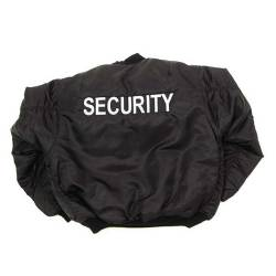 Giacca Security Nera