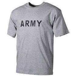 T-shirt ARMY Grigia