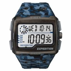 Orologio Militare Timex Expedition Grid Shock Blue Camo