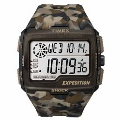 Orologio Militare Timex Expedition Grid Shock Brown Camo