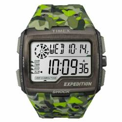 Orologio Militare Timex Expedition Grid Shock Lime Camo