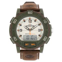 Orologio Militare Timex Expedition Shock Combo Marrone