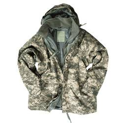 Parka Giacca Militare AT-Digital con Pile